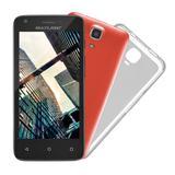 Tablet Mini Ms45s Preto + 2 Capas + 1 Case - Multilaser MUL-030