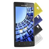 Tablet-Mini Ms60 Dual 4G Preto 4Gb Multilaiser Nb230 - Multilaser