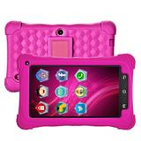 "Tablet Mondial TB-18, 7"", 4G, Wi-Fi, Kids, Android 7.1, Quad Core, 3MP, 8GB - Rosa"