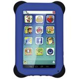 Tablet Multilaser Kid Pad NB194 7, Wi-Fi, 8 GB, Android 4.4, Câmera 2 MP, Preto com Capa Azul