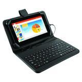 Tablet Multilaser M7S NB196 7 Quad Core 1,2 GHZ Teclado Preto
