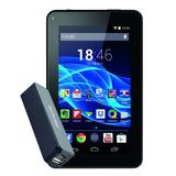 "Tablet Multilaser M7S, Quad Core, 8GB, 7"", Wi-Fi, Android 4.4 + Power Bank - Preto"