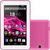 Tablet Multilaser M7s Rosa 3G  Wi-Fi Android 4.4 Quad Core Tela 7 8GB Câmera  NB186