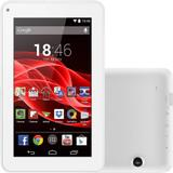 "Tablet Multilaser ML Supra 8GB Wi-Fi Tela 7"" Android 4.4 Quad Core - Branco"