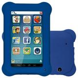 "Tablet Multilaser NB194, 7"", Kid Pad, Android 4.4, 8GB, 2MP - Azul"