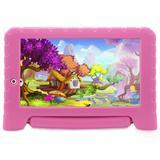 Tablet Multilaser NB279 Pad Plus 7'' 8GB Android 7.0 1GB Ram Rosa