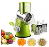 Tabletop Cortador Ralador Fatiador Legumes 3 Laminas Verduras Alimentos Variados - Compre na net