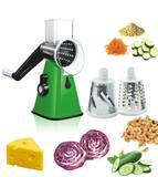 Tabletop Cortador Ralador Fatiador Legumes 3 Laminas Verduras Alimentos Variados - Dc importação