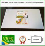 Tabua De Corte P/ Carnes Polietileno Branca - Cheffplast