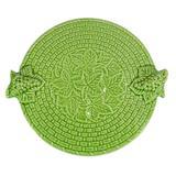 Tabua de Queijo em Cerâmica Redonda Verde Nilo - Scalla