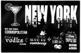 Tabua de servir em Vidro temperado - New York - 30 x 40 - Decor  casa
