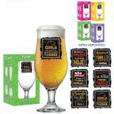 Taça de vidro linha funny royal beer 330 ml - Comercial gomes