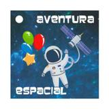 Tag para Lembrancinha Festa Astronauta 24 unidades Duster - Festabox