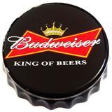 Tampa Decorativa Budweiser Retrô - Versare anos dourados