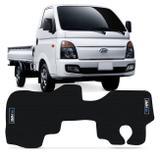 Tapete Caminhão Borracha PVC Hyundai HR 08 a 18 com Logo Antiderrapante Impermeável Preto 1 Peça - Requinte tapetes
