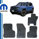 Tapete de borracha renegade original mopar jeep renegade / 50927749