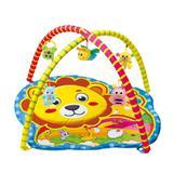 Tapete ginasio de atividades bebe infantil musical playground portatil com bolsa amigos da selva - Makeda
