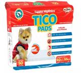 Tapete higiênico Cachorro Pet Tico Pads 60cm x 55cm com 50 unidades - Expet