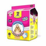 Tapete Higiênico Caninos Branco 50 Unidades - American pets