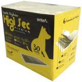 Tapete higiênico higisec petlon com 30 unidades 60x80 cm