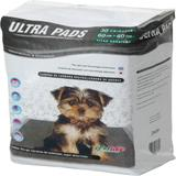 Tapete Higiênico para Cães Ultra Pads Carbono 60x60 30 Unidades PB - Petlike