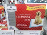Tapete Higienico Pet Trainig Pads Descartavel 80 pçs - Member mark