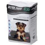 Tapete Higiênico Petlike Ultra Pads para Cães com Camada de Carbono 60x60cm 30 unidades