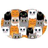 Tapete PET Gatos Colorido - Mdecore