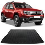 Tapete Porta Malas Bandeja Renault Duster 2011 a 2018 Preto Fabricado em PVC com Bordas de Segurança - Requinte tapetes