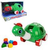 Tartaruga Didatica Puxa E Estica Colors Na Caixa - Kendy