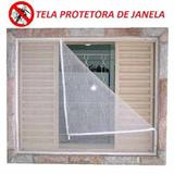 Tela Anti Mosquito / Pernilongo Poliéster Janela 1,5m x 1,8m - Clink