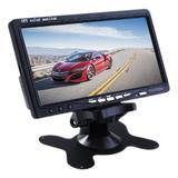 Tela Automotiva LCD Knup CA403 7 Polegadas Retrátil Entrada para DVD e Câmera de Ré