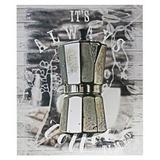 Tela italian coffee maker prata 40 x 2,5 x 50 cm - Urban