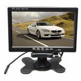 Tela Lcd Portátil Monitor Veicular Digital 7 Polegadas - Wd