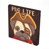 Tela Prolab Gift Puglife Pirata Marrom