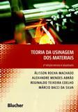 Teoria da Usinagem dos Materiais - Edgard blücher
