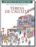 Teresa de calcuta - brochura - col. aventuras por - Cidade nova