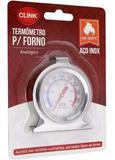 Termômetro Analógico Para Forno  Clink Ck2056