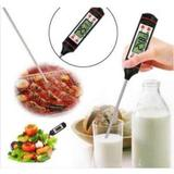 Termometro digital espeto para alimentos e culinario -50 a 300c haste 145mm - Knup