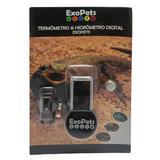 Termômetro Higrômetro Digital Exopets