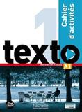 Texto 1 cahier dactivites + dvd-rom (a1) - Hachette franca