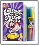 The captain underpants super-silly stic - Scholastic