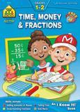 Time, money  fractions 1-2 - School zone