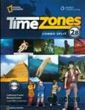 Time zones 2b - combo split - students book - with multi-rom - Cengage / elt