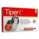 Tiper C para Cães Pipeta Brouwer Até 15kg - Doctorsvet
