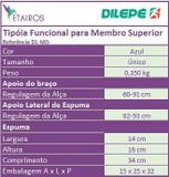 Tipóia Funcional para Membro Superior - DL-665 - Dilepé