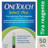 Tiras OneTouch Select Plus 50 Unidades