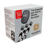 Tiras Reagentes Glicemia Descarpack 50 unidades