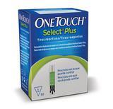 Tiras Reagentes OneTouch Select Plus com 50 unidades