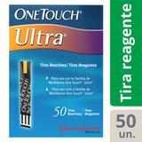 Tiras Reagentes OneTouch Ultra com 50 Unidades